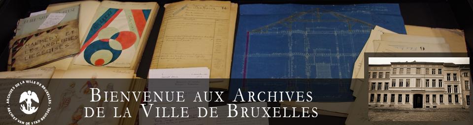 Archives ville de Bruxelles